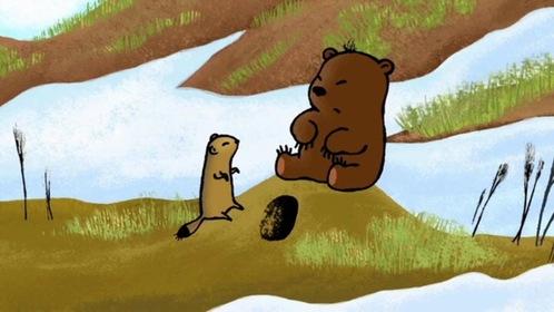 «Непослушный медвежонок» — кадры