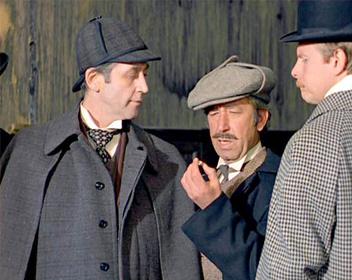 «Шерлок Холмс и доктор Ватсон: Кровавая надпись» — кадры