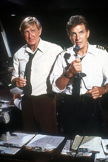 Фільм «Аероплан» (1980): Ллойд Бріджес, Роберт Стек 350x525