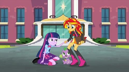 «Мой маленький пони: Девочки из Эквестрии — Радужный рок» — кадры