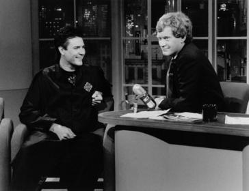 «Пізня ніч з Девідом Леттерманом» — кадри