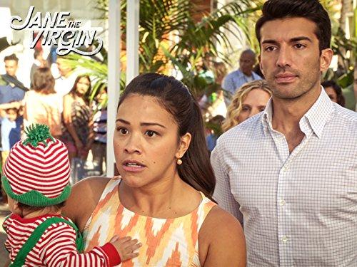 Серіал «Незаймана Джейн» (2014 – 2019): Джастін Бальдоні, Джина Родрігес 2 сезон, 8 епізод — «Тридцатая глава» (Chapter Thirty) 500x375