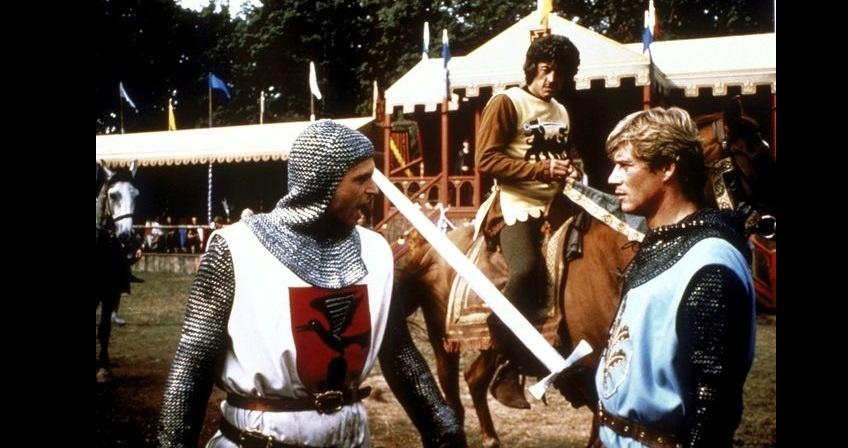Фільм «Айвенго» (1982): Джон Хэллам, Сем Нілл, Ентоні Ендрюс 848x448