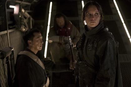 «Изгой-один: Звёздные войны. Истории» — кадры