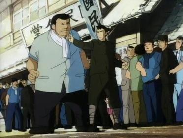 «Босоногий Ґен» — кадри