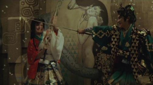 «Легенда восьми самураев» — кадры