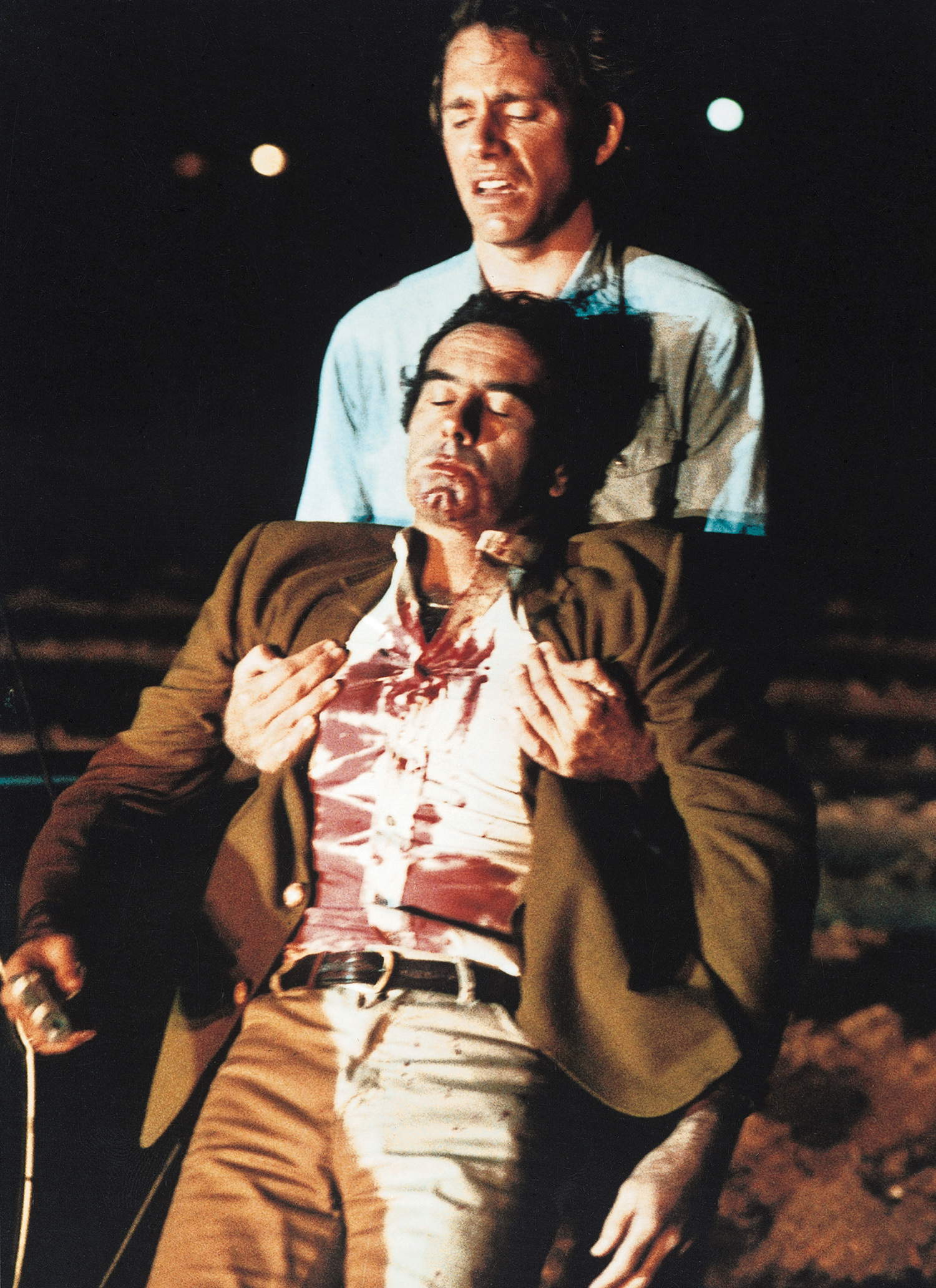 Фильм «Просто кровь» (1983): Дэн Хедайя, Джон Гец 1500x2064
