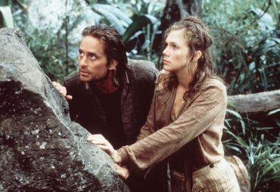 «Роман с камнем» — кадры