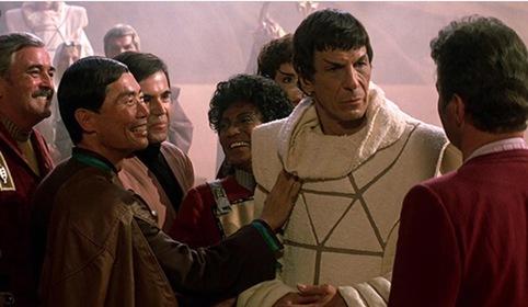 «Зоряний шлях 3: У пошуках Спока» — кадри