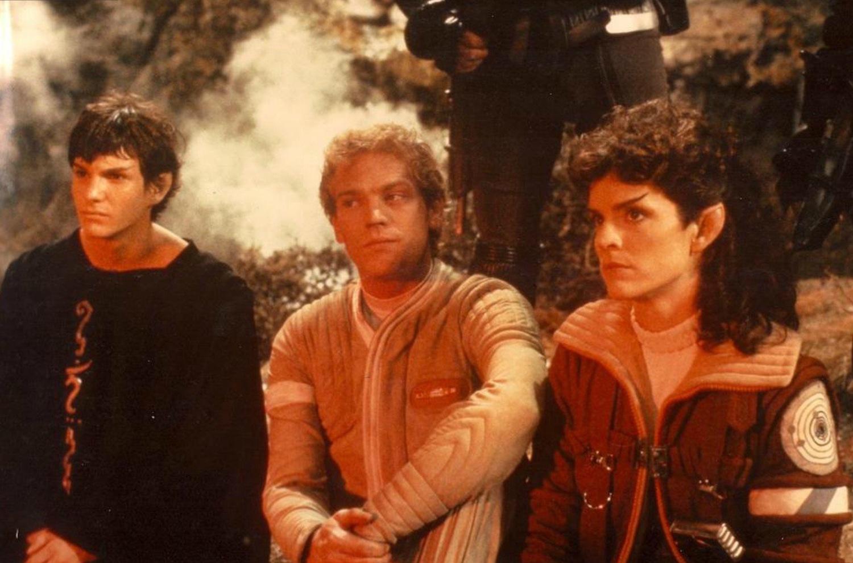 Фильм «Звездный путь 3: В поисках Спока» (1984): Стефен Мэнли, Мерритт Бутрик, Робин Кертис 1500x991