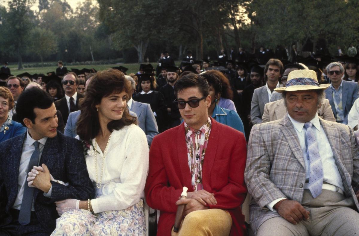 Фільм «Знову до школи» (1986): Роберт Дауні-молодший, Террі Фаррелл, Кіт Гордон, Берт Янґ 1200x789