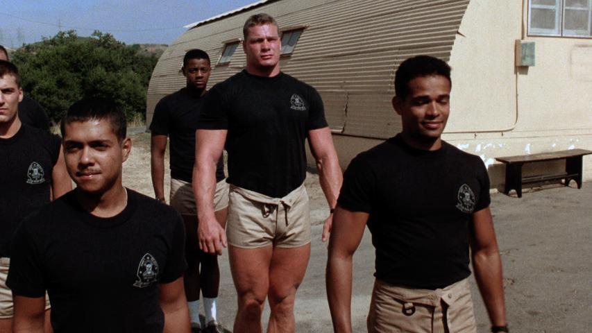 Фильм «Перевал разбитых сердец» (1986): Марио Ван Пиблз, Майк Гомес, Питер Кох 853x480