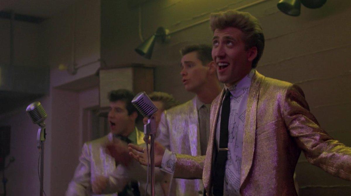 Фильм «Пегги Сью вышла замуж» (1986): Гленн Уитроу, Николас Кейдж, Джим Керри, Гарри Бейзил 1200x671