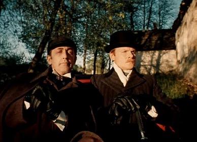 «Пригоди Шерлока Холмса й доктора Ватсона: Двадцяте століття починається» — кадри