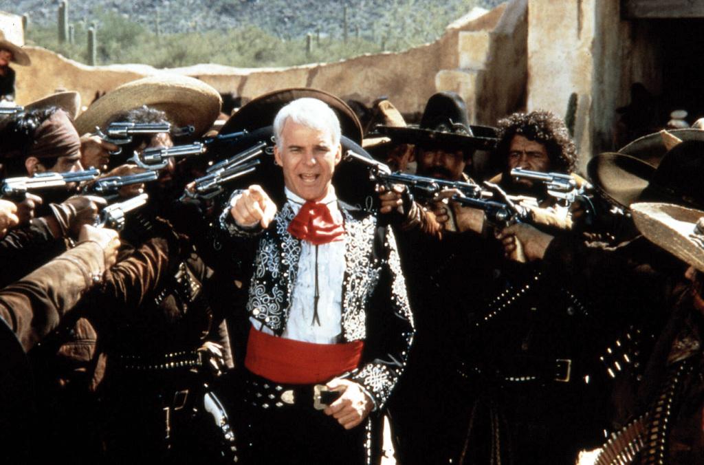 Фільм «Троє Амігос» (1986): 1024x676