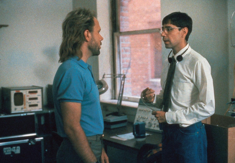 Фільм «Князь темряви» (1987): Роберт Грасмер, Тому Брей 1500x1044