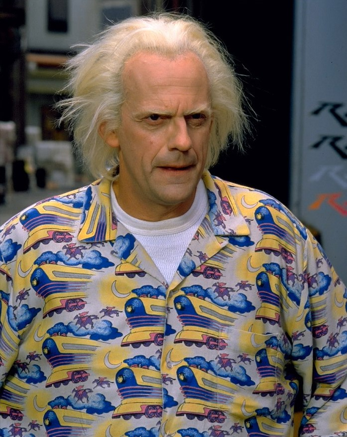 Фильм «Назад в будущее 2» (1989): Кристофер Ллойд 697x876