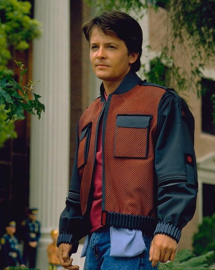Фильм «Назад в будущее 2» (1989): Майкл Дж. Фокс 698x877
