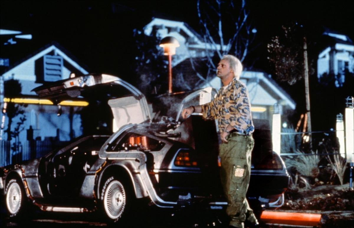 Фильм «Назад в будущее 2» (1989): Кристофер Ллойд 1200x775