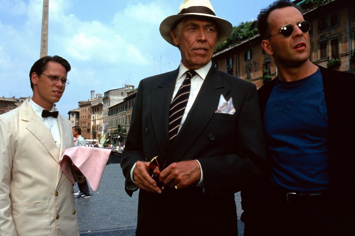 Фільм «Гудзонський яструб» (1991): Дон Гарві, Джеймс Коберн, Брюс Вілліс 1200x798