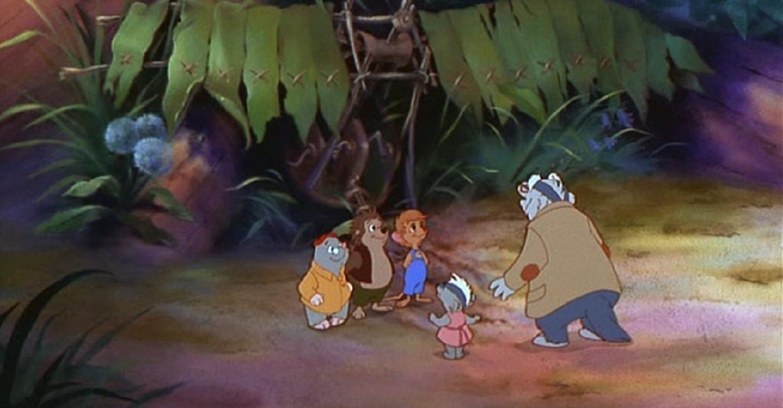 Мультфильм «Однажды в лесу» (1993): 1440x750