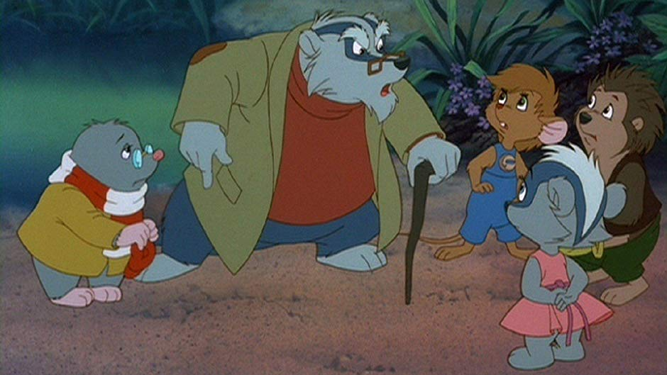 Мультфильм «Однажды в лесу» (1993): 940x529