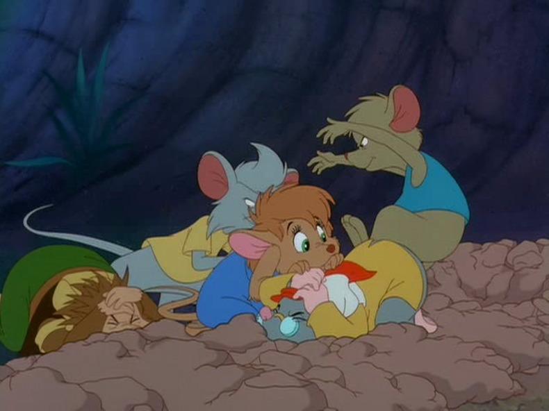 Мультфильм «Однажды в лесу» (1993): 790x592