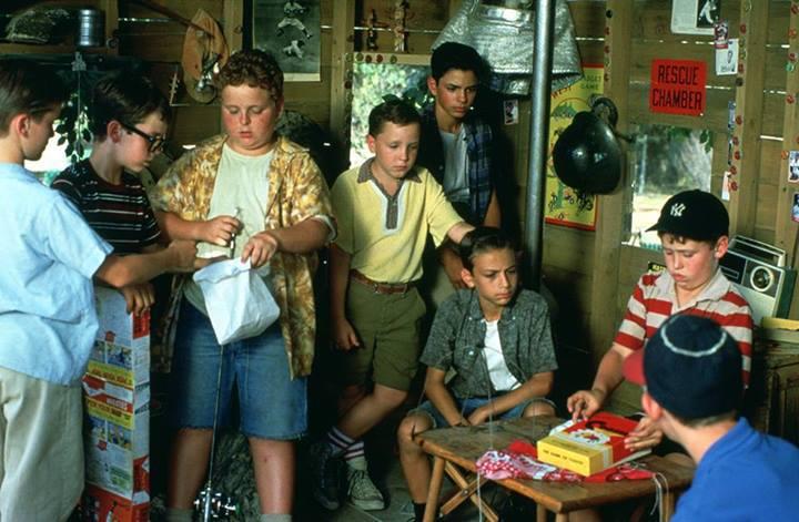 Фільм «Майданчик» (1993): Віктор ДиМаттья, Шейн Обедзински, Грант Гельт, Патрік Ренна, Майк Вітар, Том Ґайрі, Марті Йорк, Чонсі Леопарді 720x471