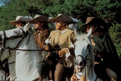 «Три мушкетера» — кадры