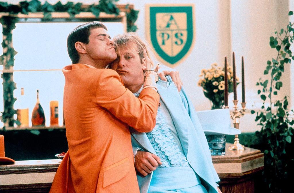 Фильм «Тупой и еще тупее» (1994): Джим Керри, Джефф Дэниелс 1024x671
