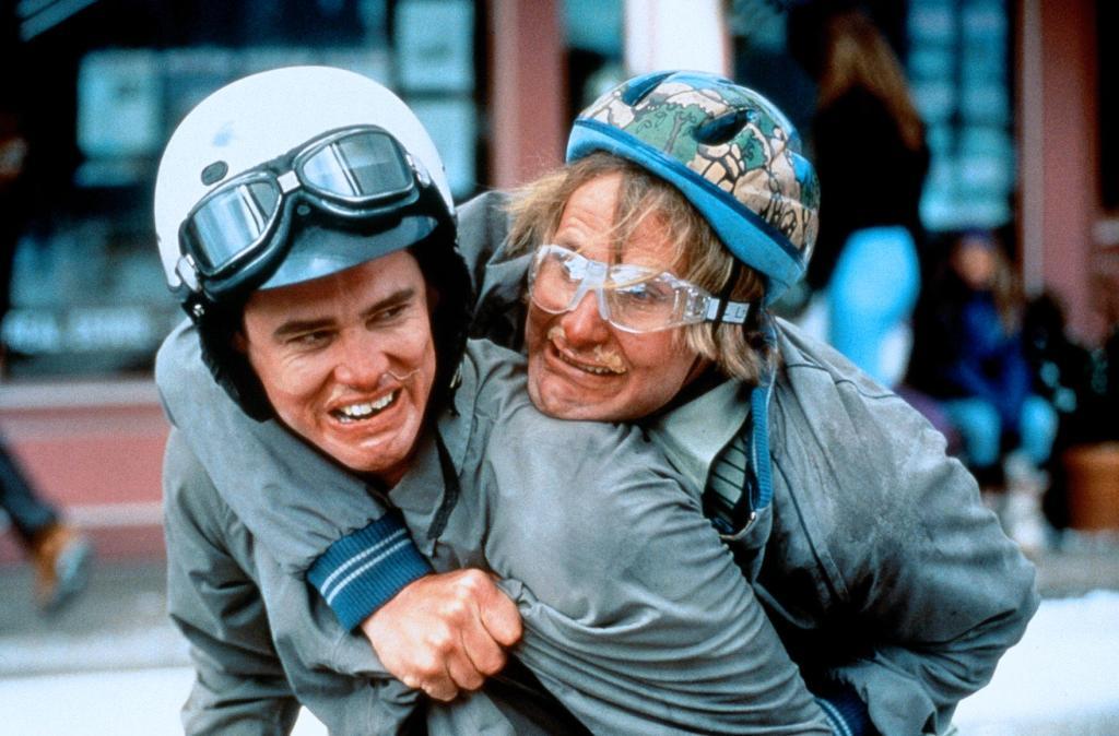 Фильм «Тупой и еще тупее» (1994): Джим Керри, Джефф Дэниелс 1024x674