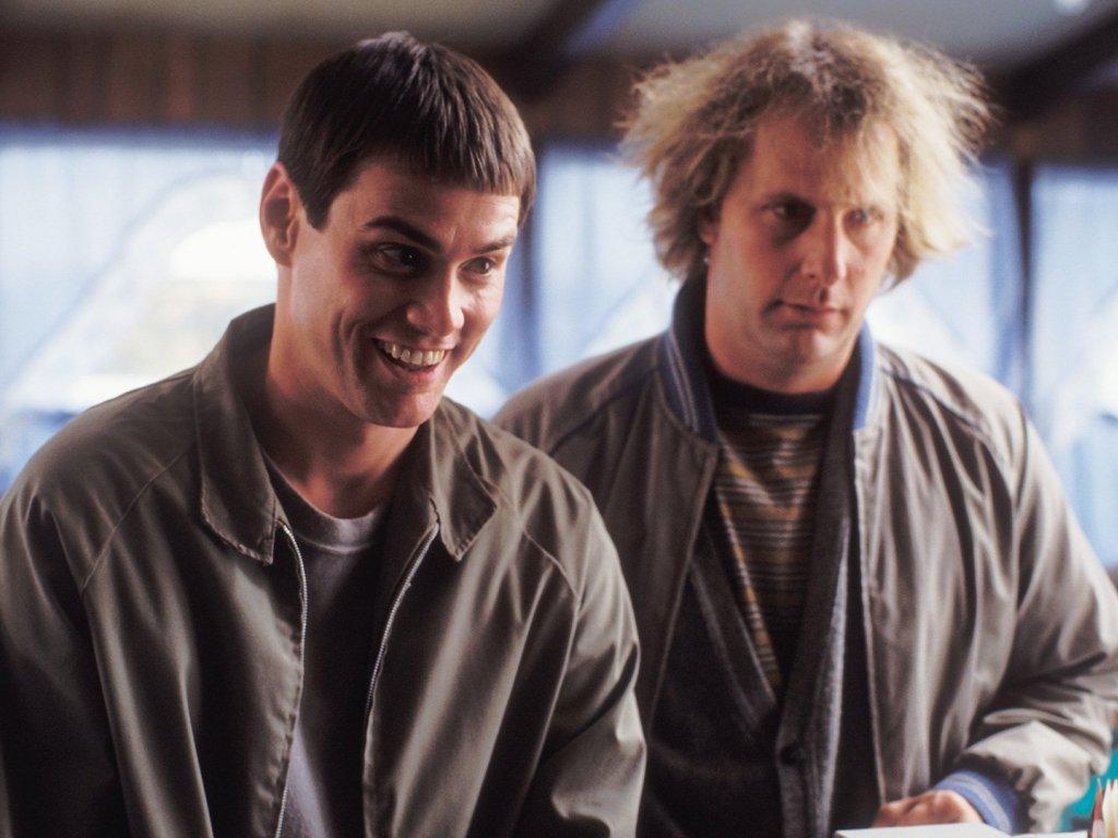 Фильм «Тупой и еще тупее» (1994): Джим Керри, Джефф Дэниелс 1024x768