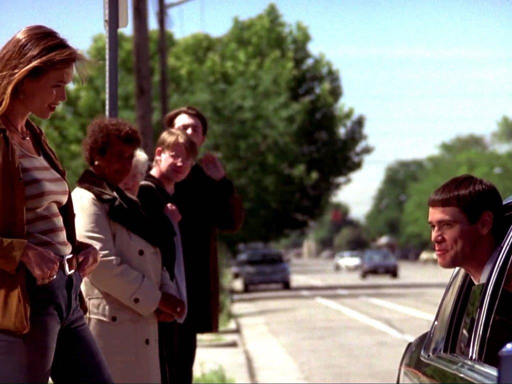 Фильм «Тупой и еще тупее» (1994): Джим Керри 1024x768